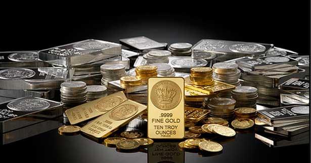 Котировки драгоценных металлов в рублях