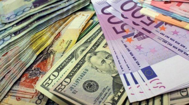 Курсы валют по отношению к рублю