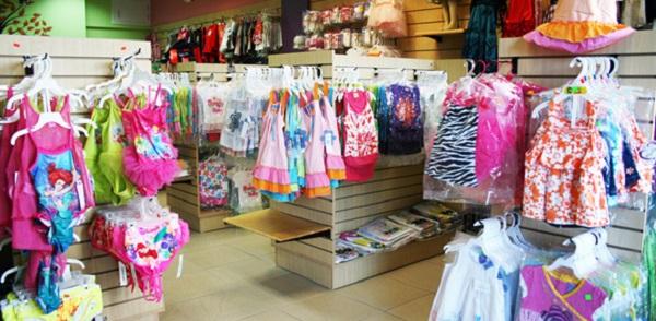 бизнес магазин детской одежды