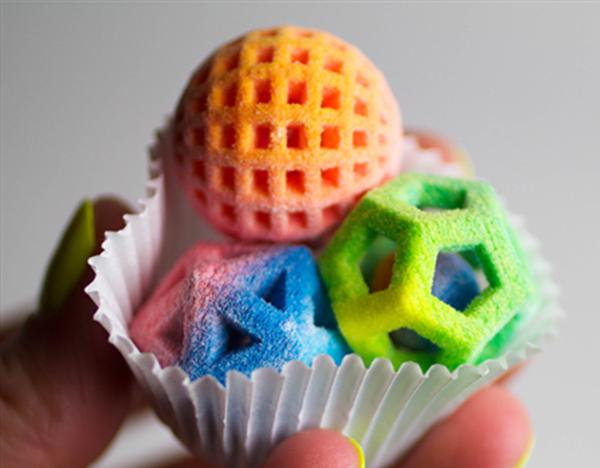 сладости из 3д принтера бизнес идея 2018