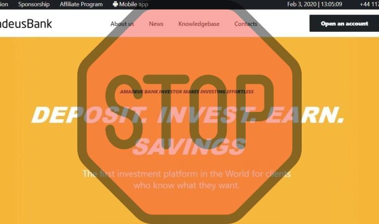 Amadeus Bank, amadeusbank.com
