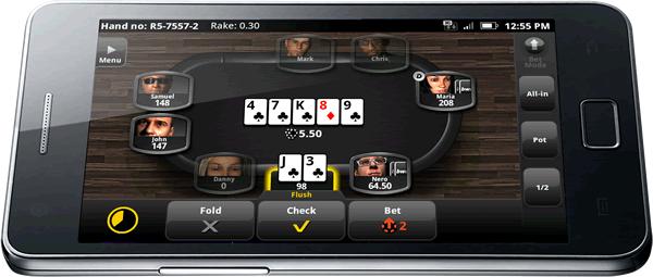 покер в мобильном телефоне заработок